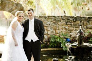 Lebenspartnerschaft - ein Brautpaar